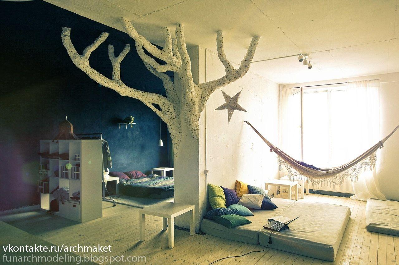 Whimsical Tree House Themed Room I