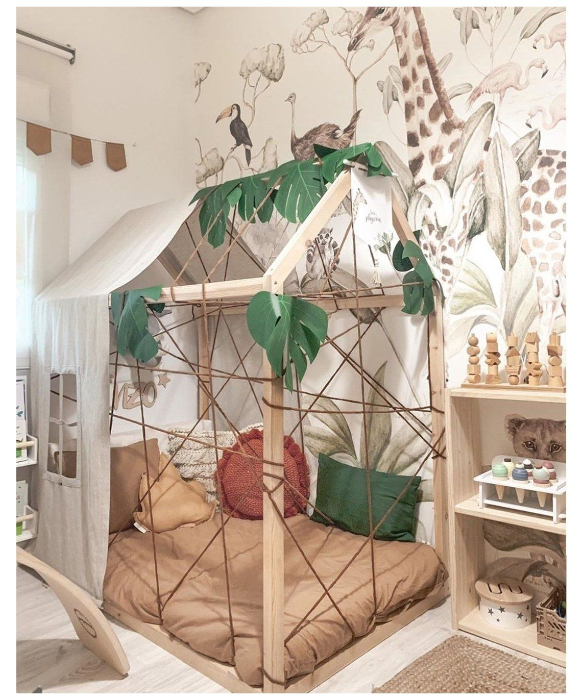 12 Brilliant Jungle Theme Kids Room Ideas Jungle Kids Room Ideas Junglekidsroomideas Here I V In 2021 Kids Jungle Room Jungle Theme Kids Room Jungle Bedroom Theme Toddler jungle bedroom ideas