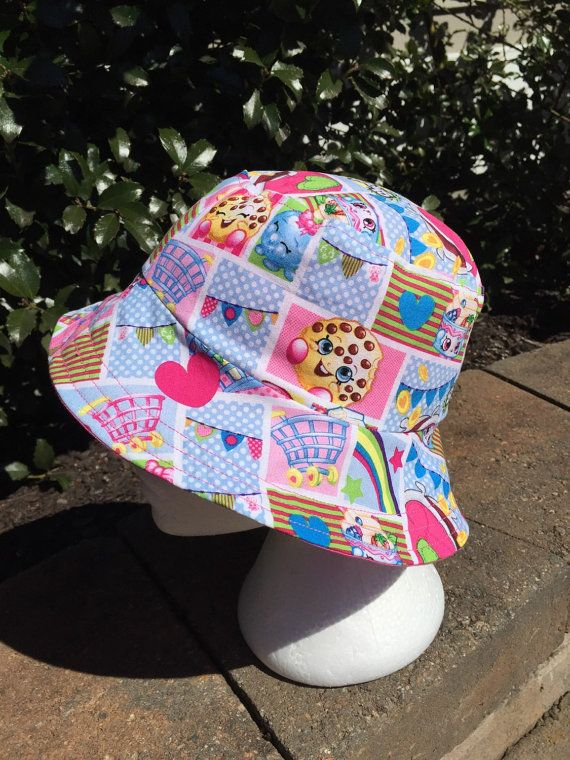 Shopkins Reversible Bucket Hat By AbicoyCreations
