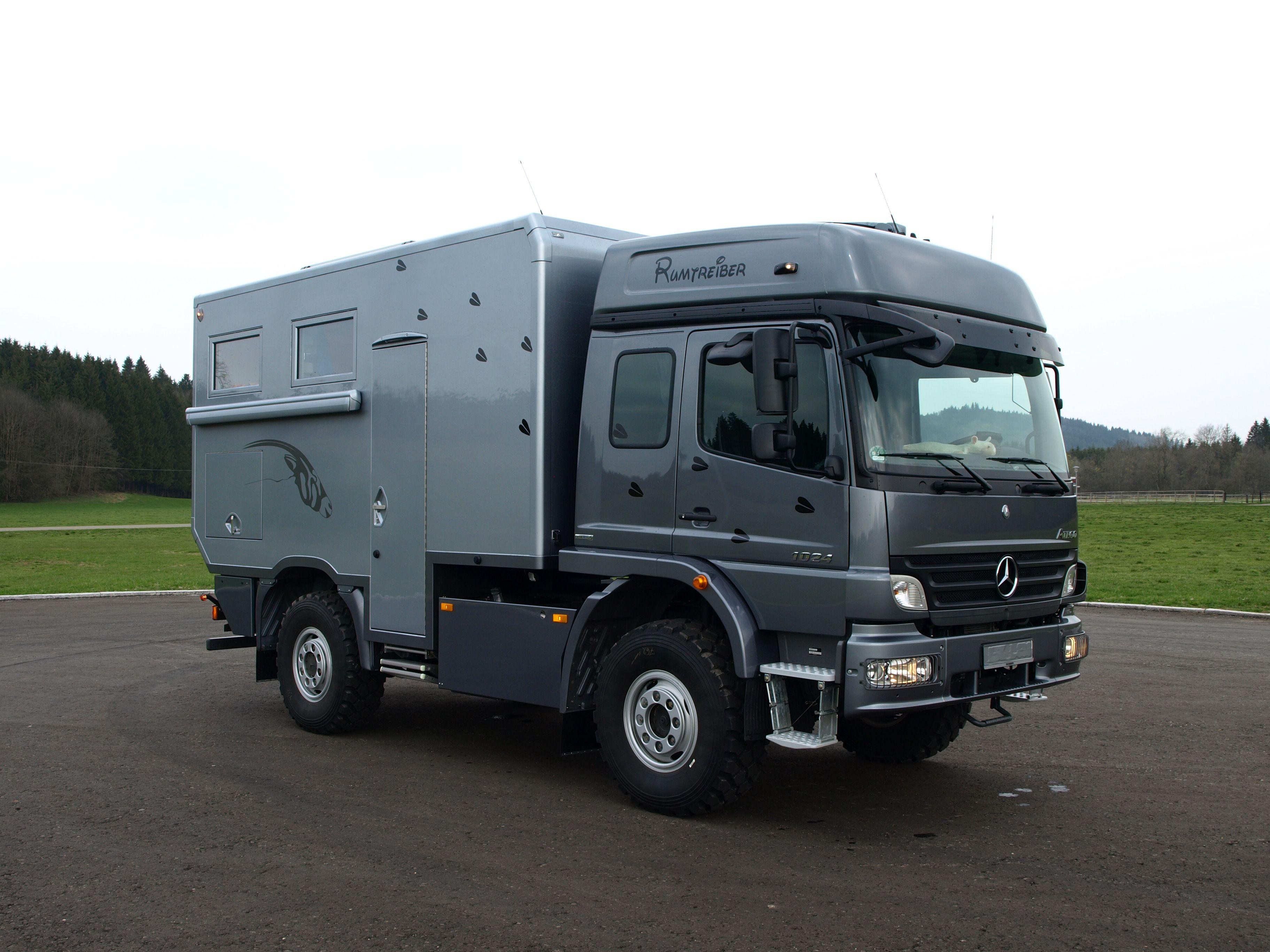 Mb atego expeditionsmobil husbil 4x4 pinterest 4x4 for Mercedes benz rv camper