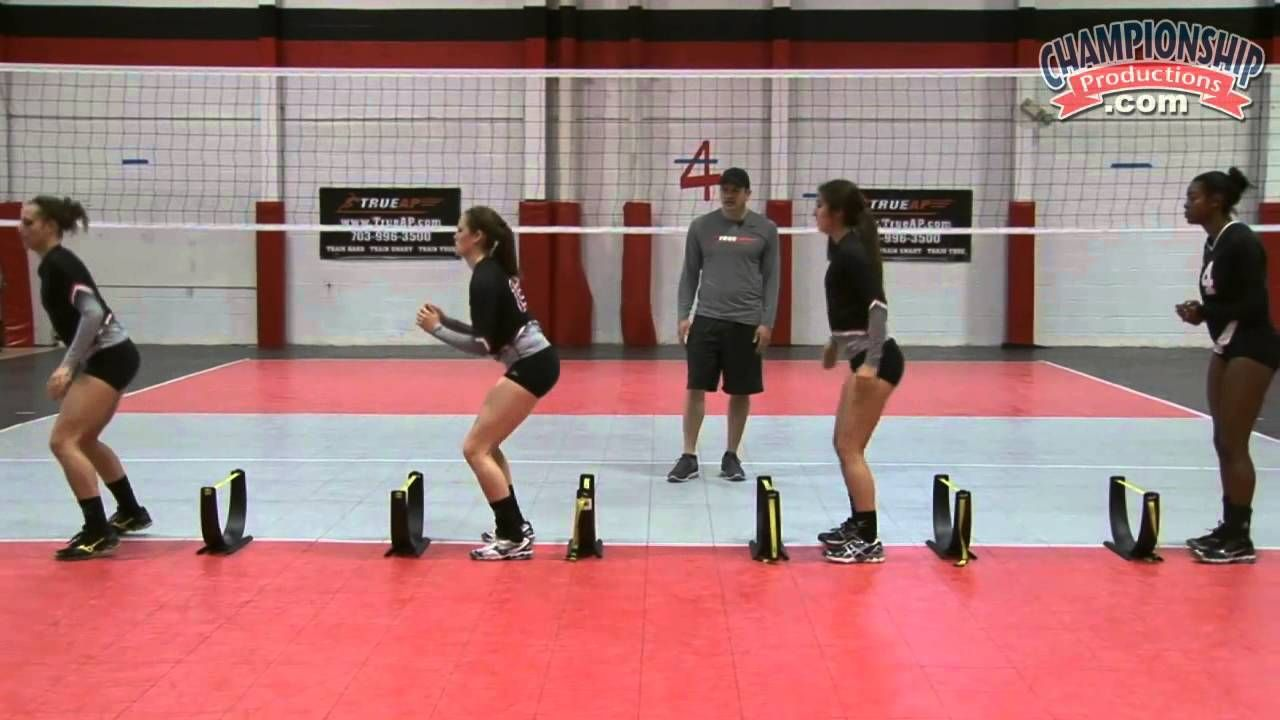 Explosive Speed Reaction And Jump Training For Volleyball Volleyball Drills Volleyball Training Volleyball Workouts