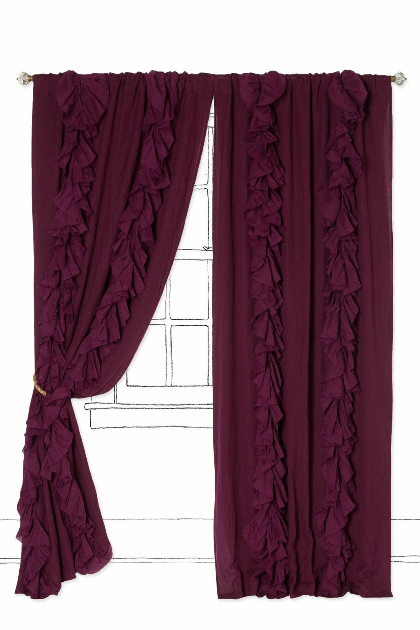 Wandering pleats curtain pleated curtains and pillow fabric