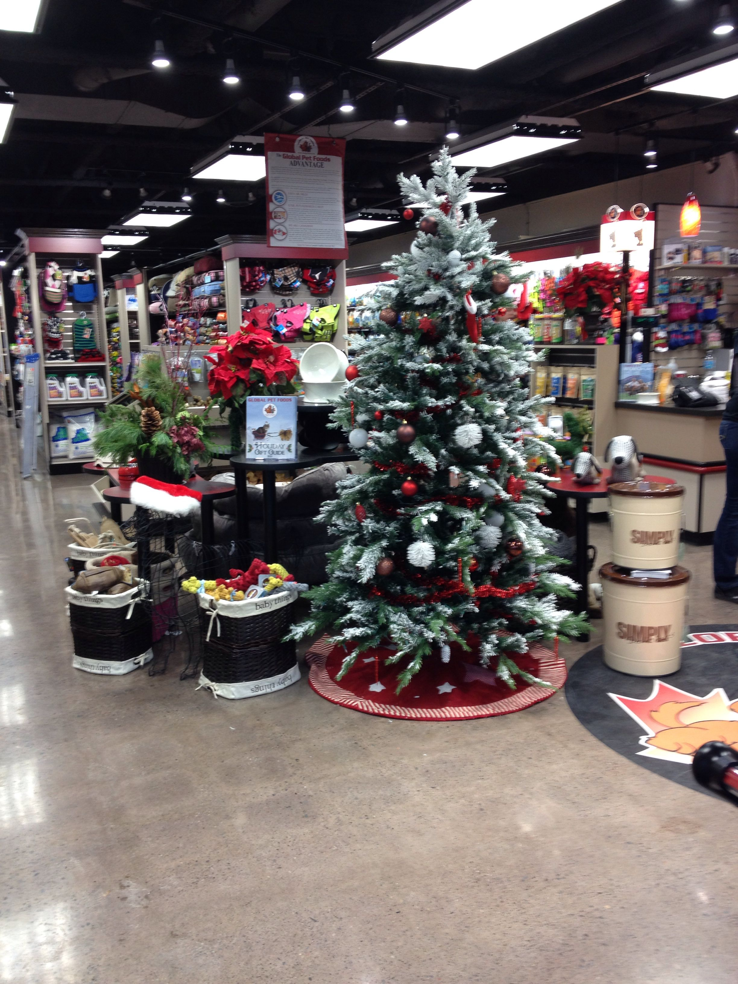 Global Pet Foods stores across Canada are all decked out