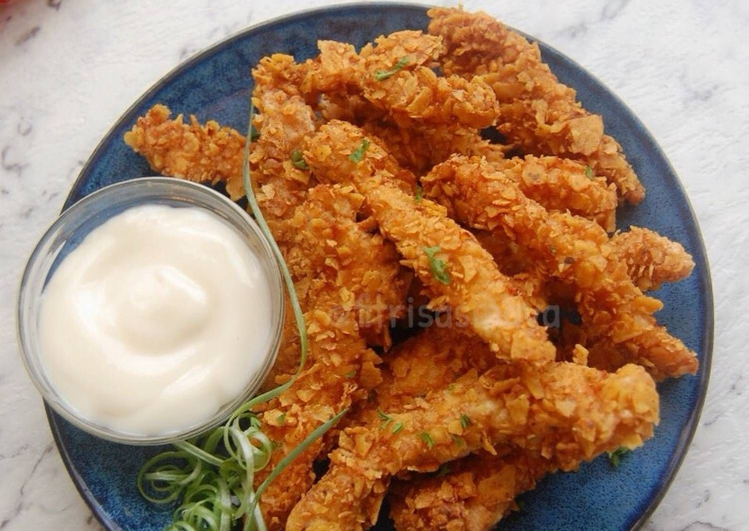 Dorito Chicken Fingers Resep Resep Dada Ayam Ayam