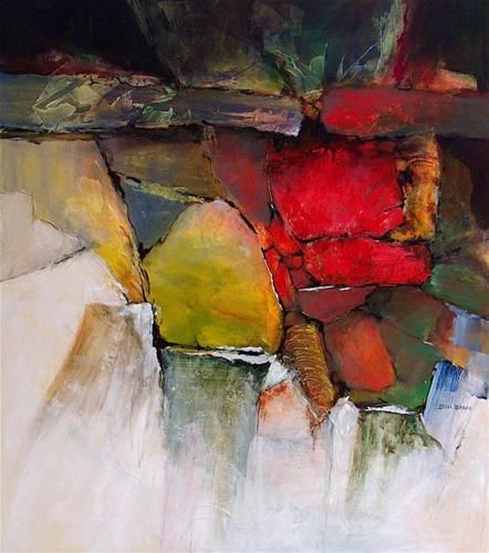 "Original Fine Art For Sale: ""yellow Rock"""