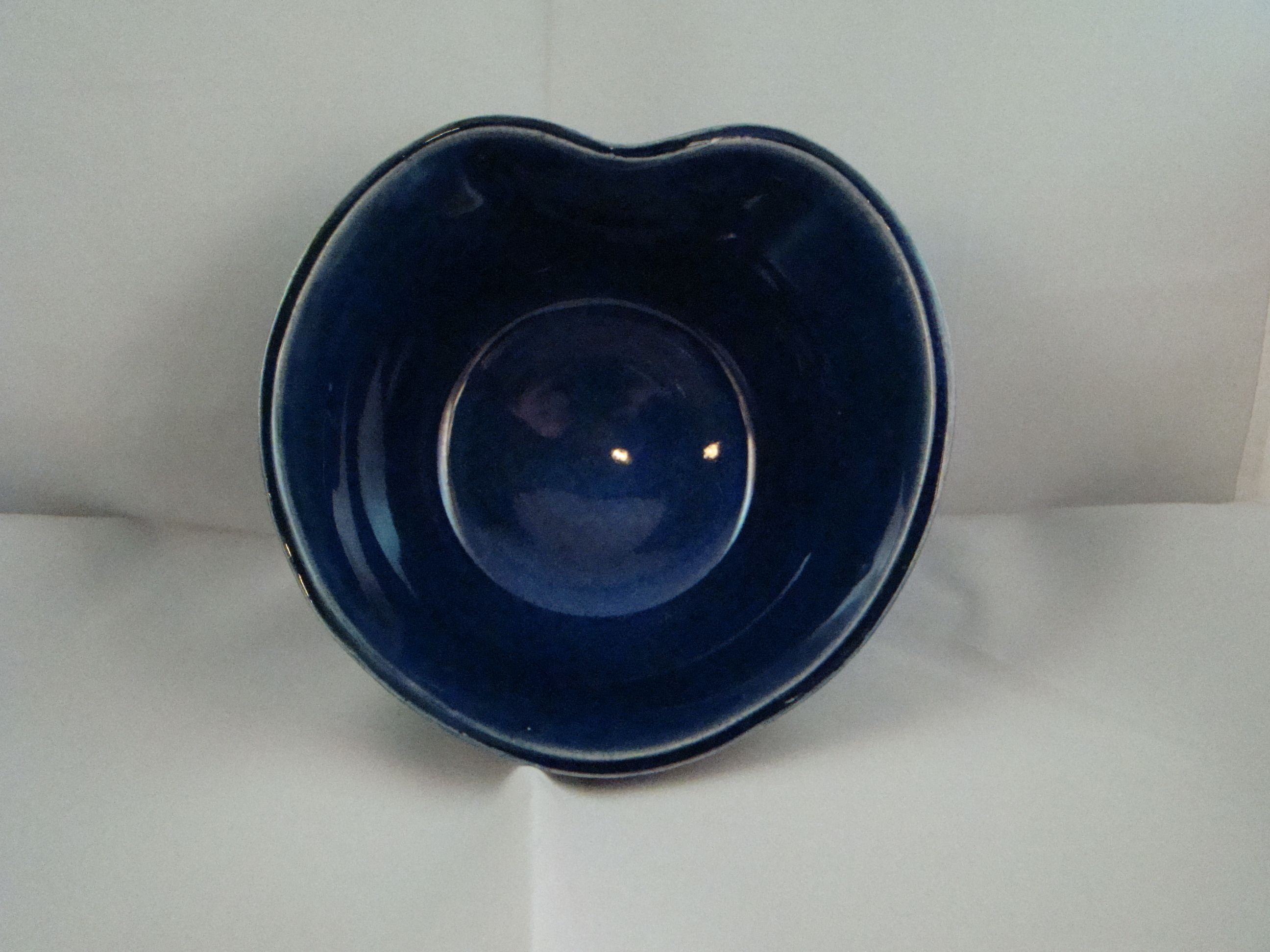 """Is your heart - """"True Blue""""  - this handmade bowl can be yours if you place the winning bid on EBay"""