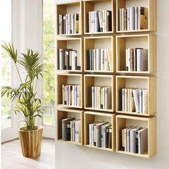 De standaard boekenkast is zo ouderwets! Zie hier de moderne variant ...