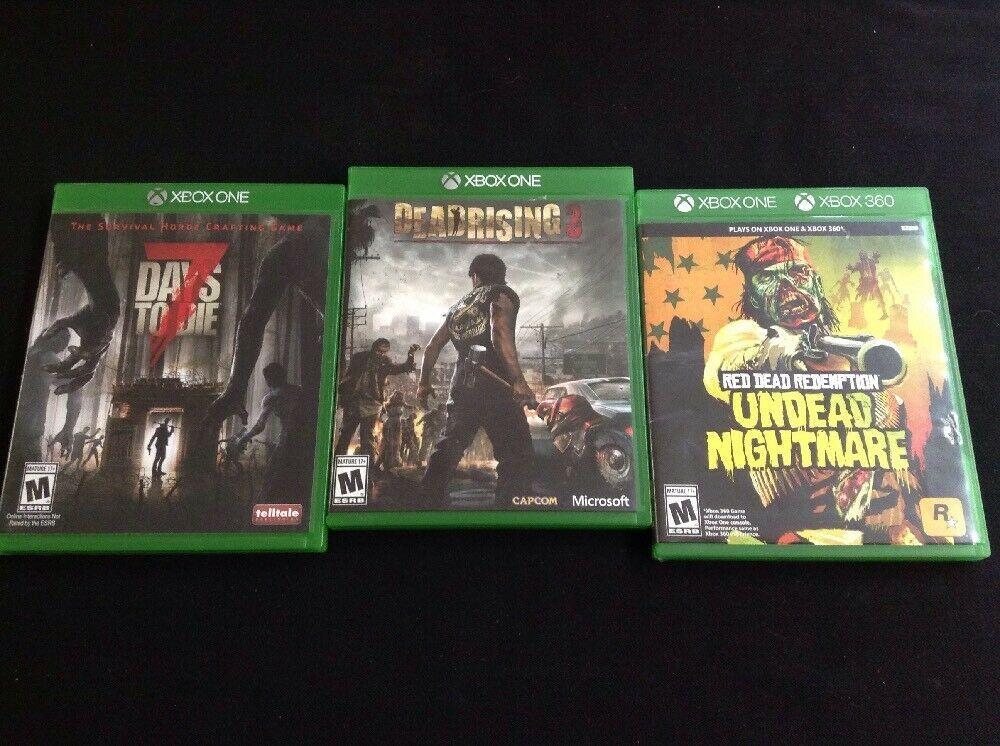 Red Dead Redemption Undead Nightmare 7 Days To Die Dead Rising 3