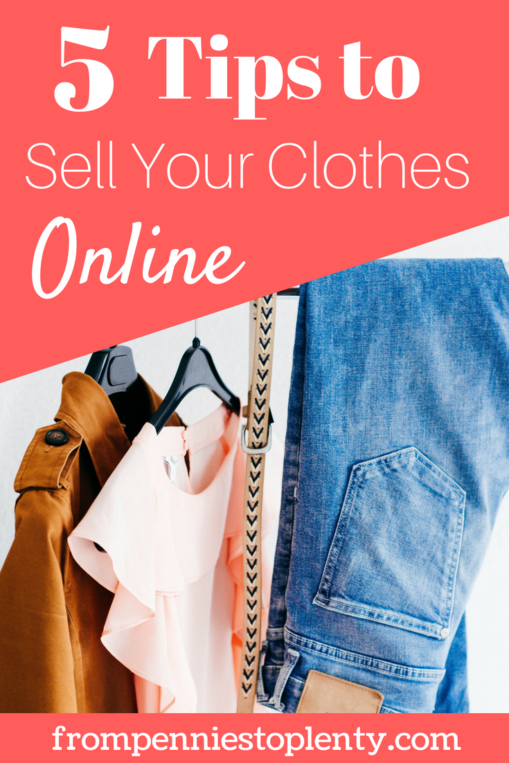 How to Sell Clothes Online.  Tips for Selling Clothes Online