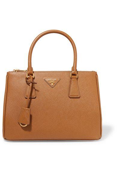 e8730db3eb Prada - Galleria Medium Textured-leather Tote - Tan - one size ...