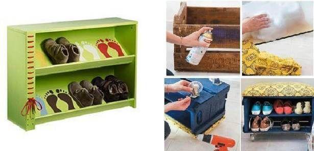 Pin De Vania En Domacnost Muebles Para Guardar Zapatos Guarda Zapatos Muebles De Carton