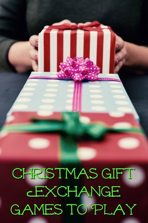 Christmas gift games to play
