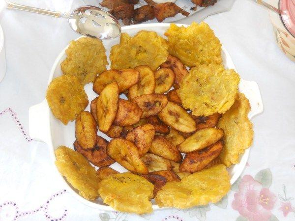 HAITIAN GRIOT & FRIED PLANTAINS | Haitian food recipes ...