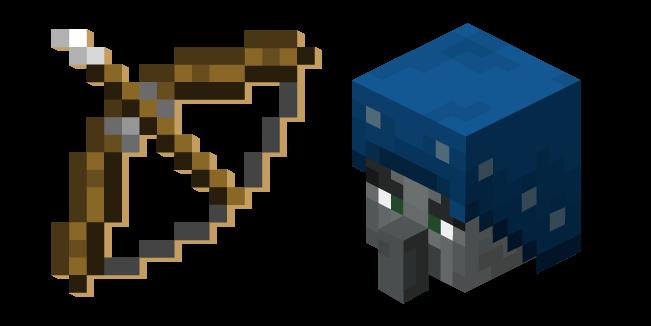 Minecraft Bow And Illusioner Minecraft Bows Custom