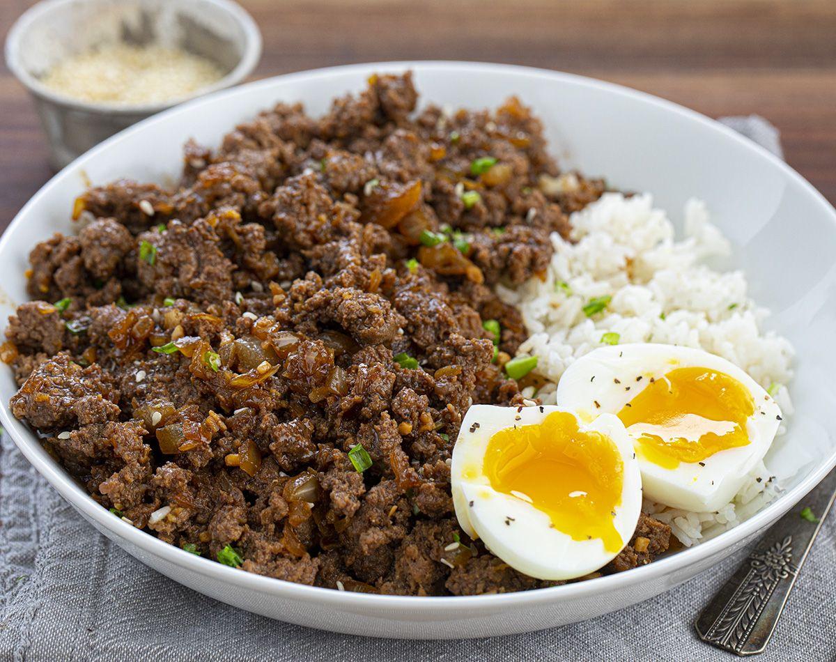 Easy Ground Beef Bulgogi   Recipe in 2020   Bulgogi beef ...