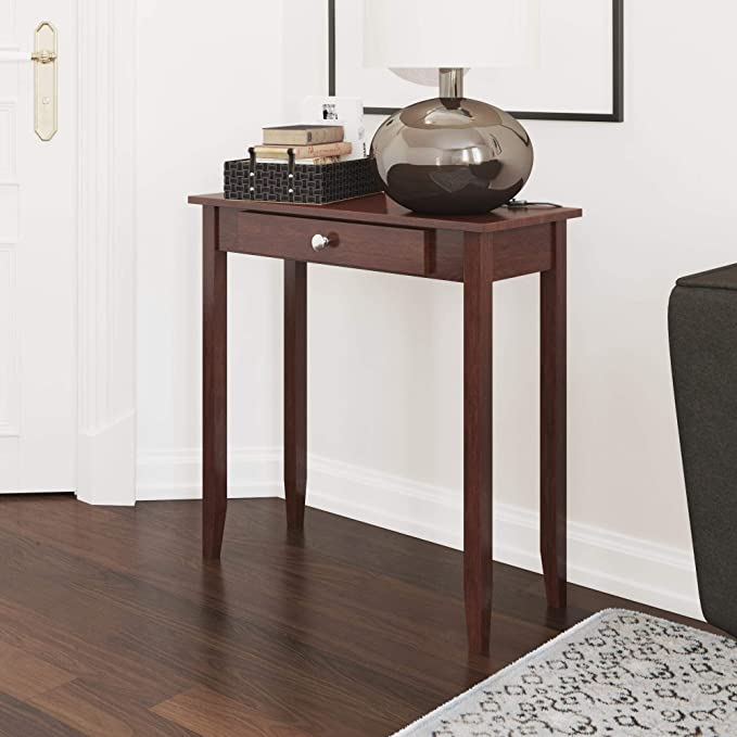 Amazon Com Dhp Rosewood Tall Coffee Table Kitchen Dining In 2020 Tall End Tables Brown Coffee Table Console Table Living Room #tall #living #room #table