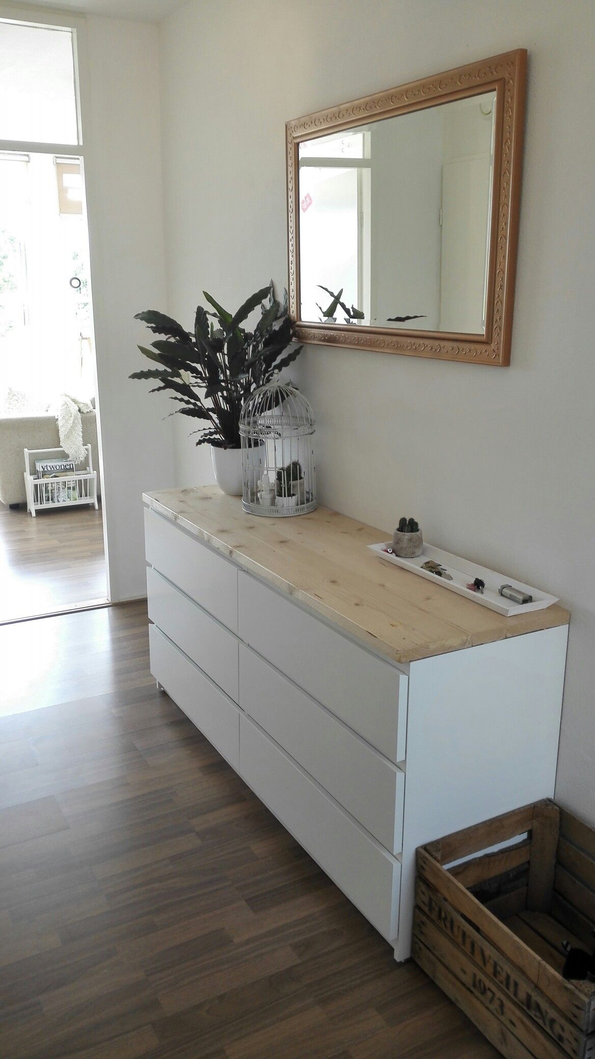 Ikea Schlafzimmer Kommode Malm Ikea Malm Drawers With Butcher Block Top Home Pinterest Malm
