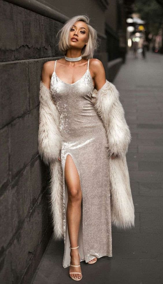 14 Stunning Amazing New Year Party Outfit Ideas Hollywood Glam Dress Glam Dresses Fashion