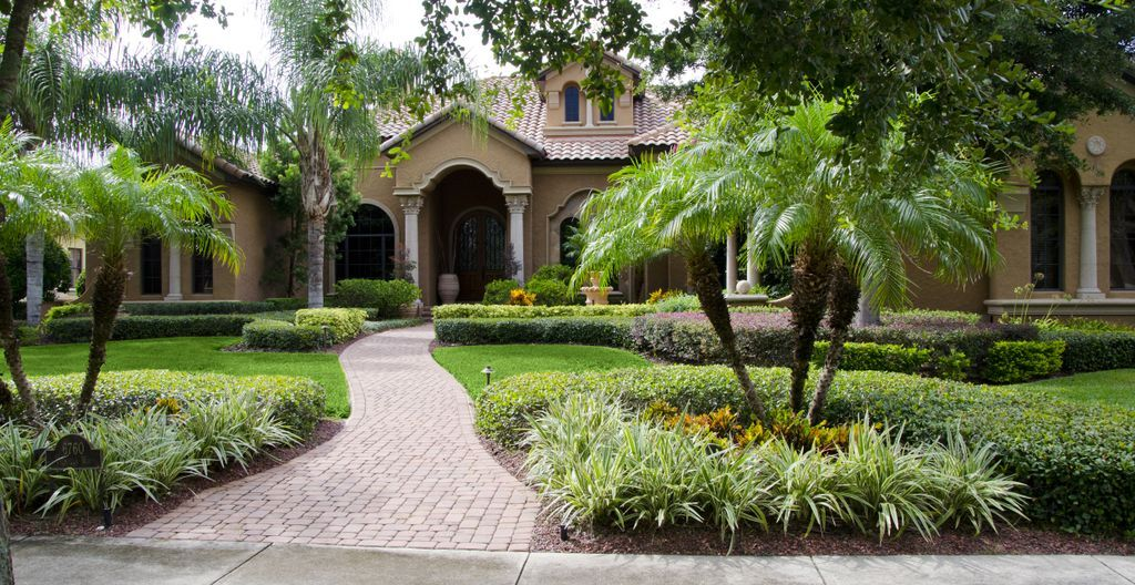 Small Front Yard Florida Landscaping Ideas Florida Landscape Professionals 407 467 8200 Residential Landscaping Florida Landscaping Home Landscaping