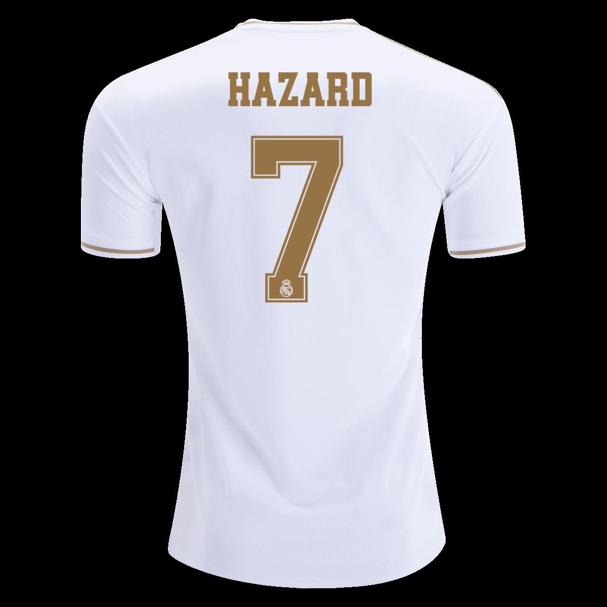 Adidas Eden Hazard Real Madrid Home Jersey 19 20 Xl Hazard Real Madrid Real Madrid Eden Hazard