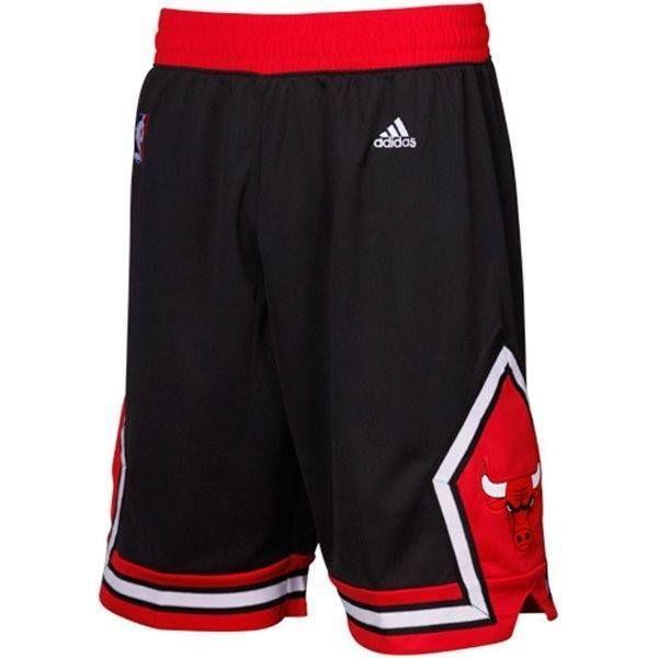 Bulls Swingman Black Hard Chicago ShortsDie Adidas H9EWD2YeI