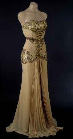 Vintage Evening Gowns Dress