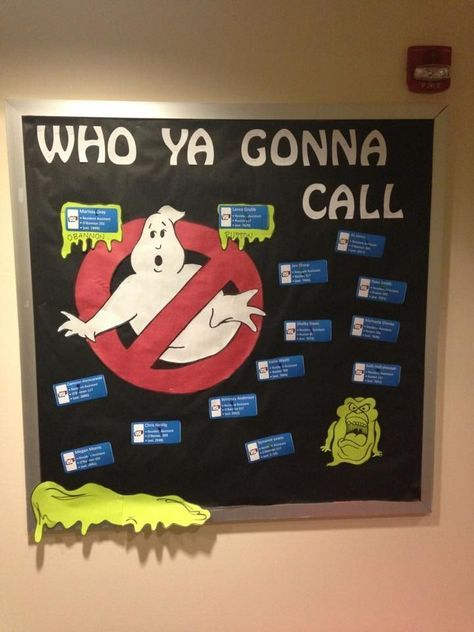 This could be a great fall, Halloween, or spooky bulletin board for