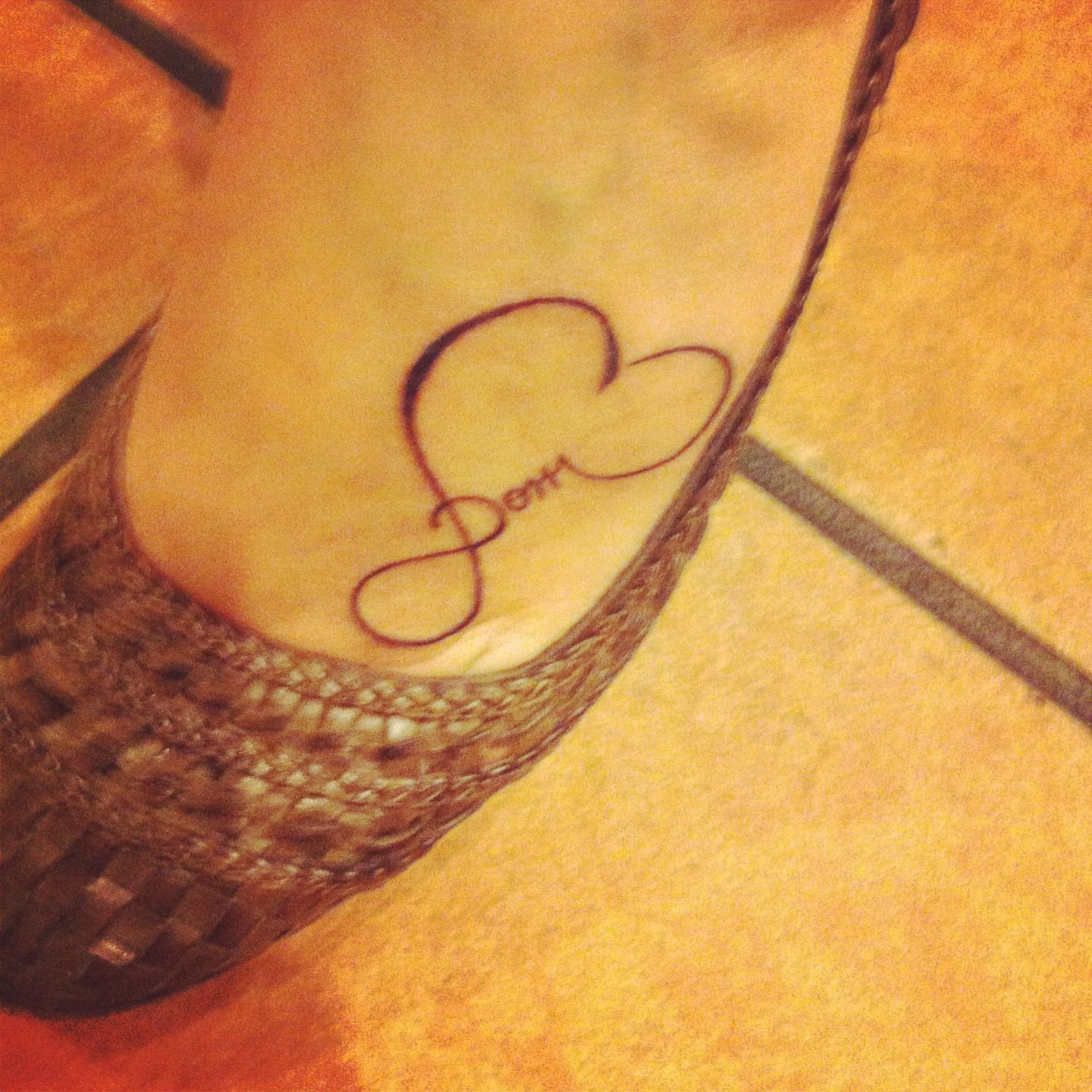 Infinity symbol she put a loved ones name in there who passed infinity symbol she put a loved ones name in there who passed away infinity hearttattoo biocorpaavc Image collections