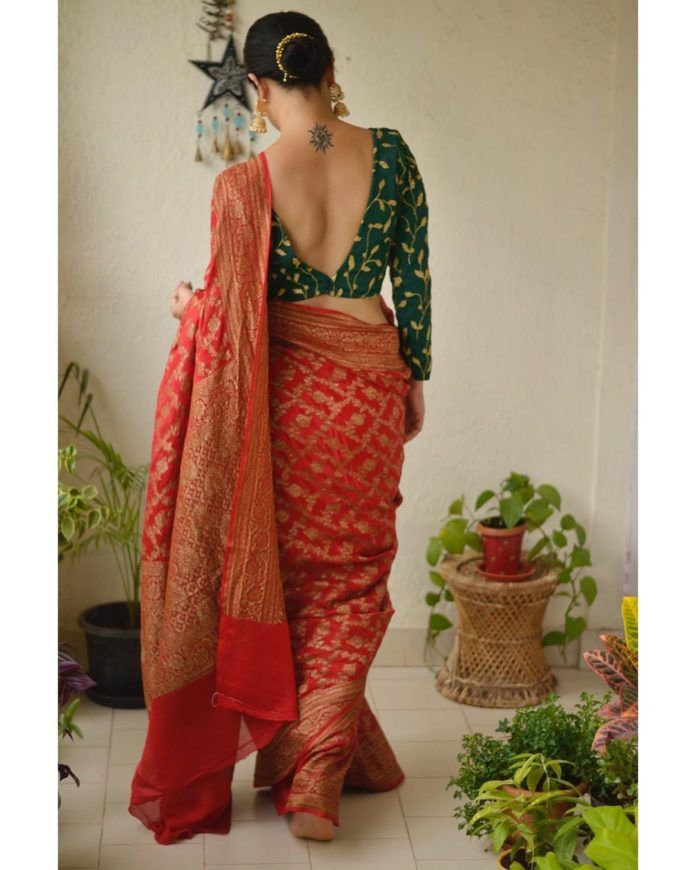 How to Look Stylish in Sarees How to Look Stylish