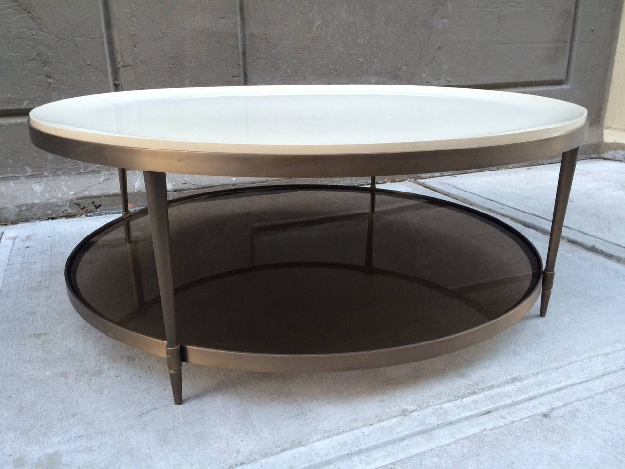 Brass Coffee Table By Barbara Barry For Baker 2 Coffee Table