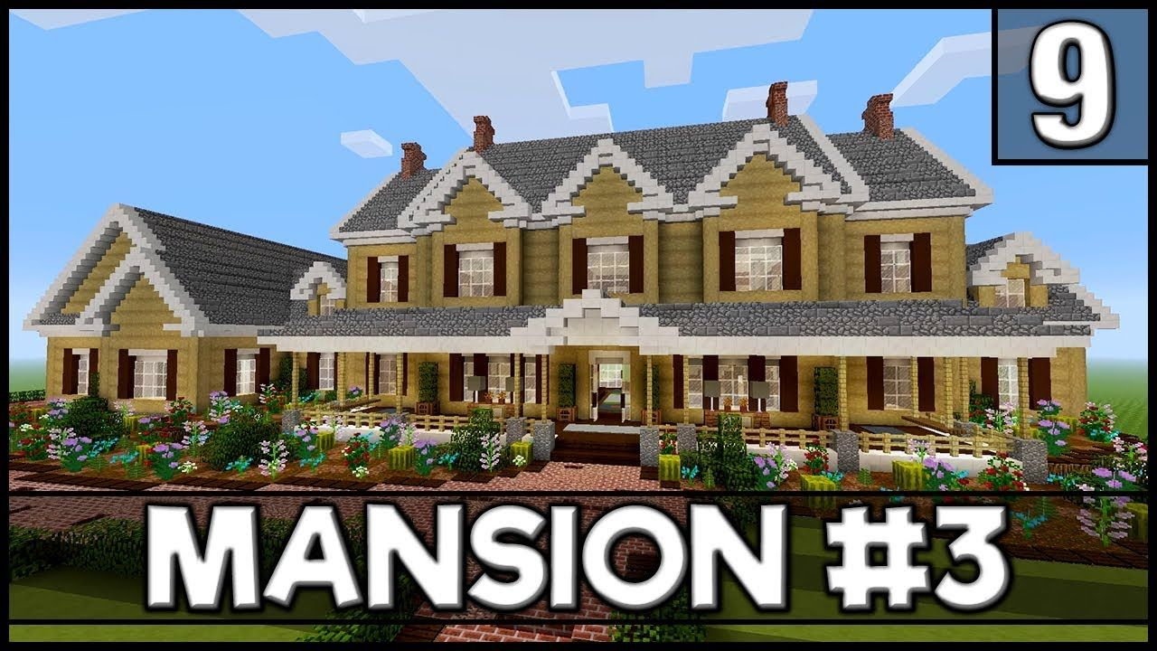 Minecraft How To Build A Mansion 3 Part 9 Interior 5 6 Https Cstu Io A2f570 Minecraft Mansion Minecraft House Tutorials Minecraft Mansion Tutorial