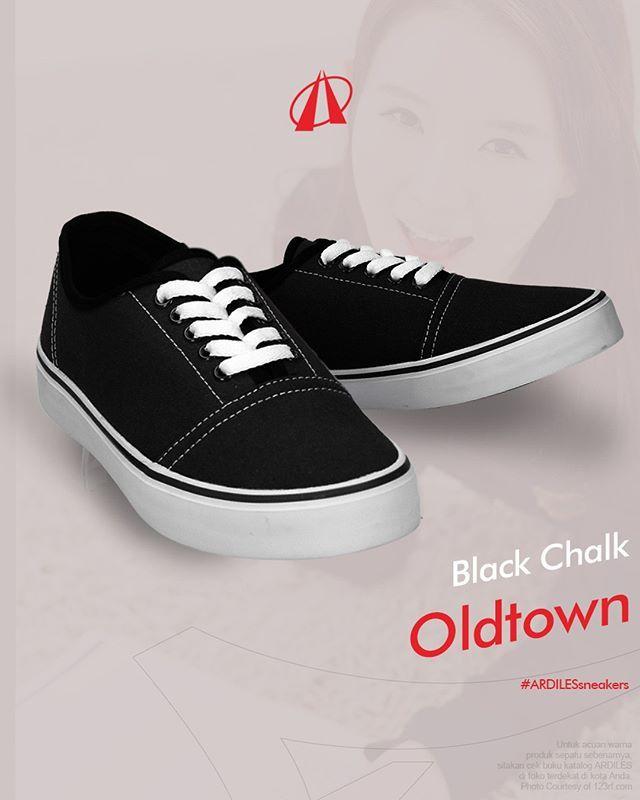 Black Chalk Ardiles Sneakers Lovers Kini Ardiles Sneakers Punya