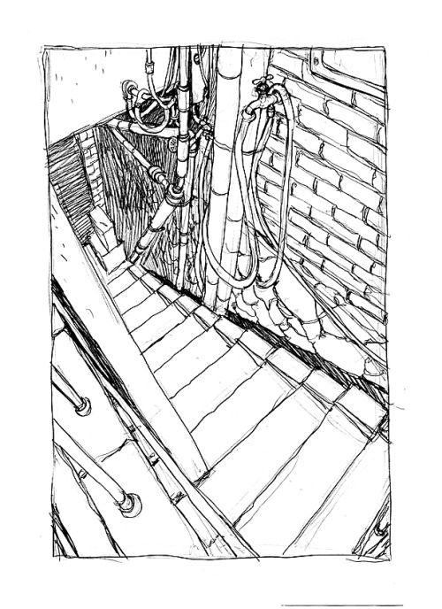 Background sketch comics BOOM!estudio Pinterest Freelance - background sketches