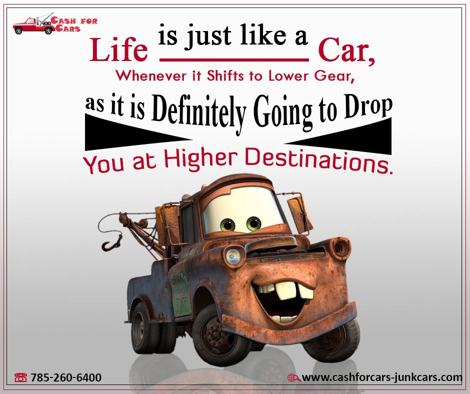 Life Is Just Like A Car Whenever It Shifts To Lower Gear As It