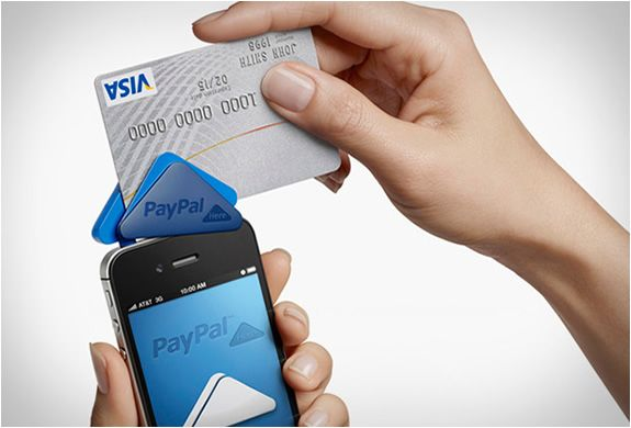 Paypal Here Mobile Payments Credit Card Readers Cool Technology