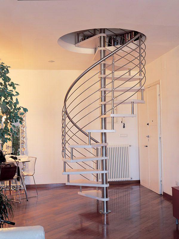 Best Scala A Chiocciola Legno E Inox Stairs Design Staircase 400 x 300