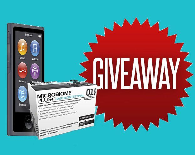 Win an $250.00 Apple iPod Nano 16GB and three months of Advanced Probiotics and Prebiotics. Bonus: Instant coupon code emailed once you click submit!