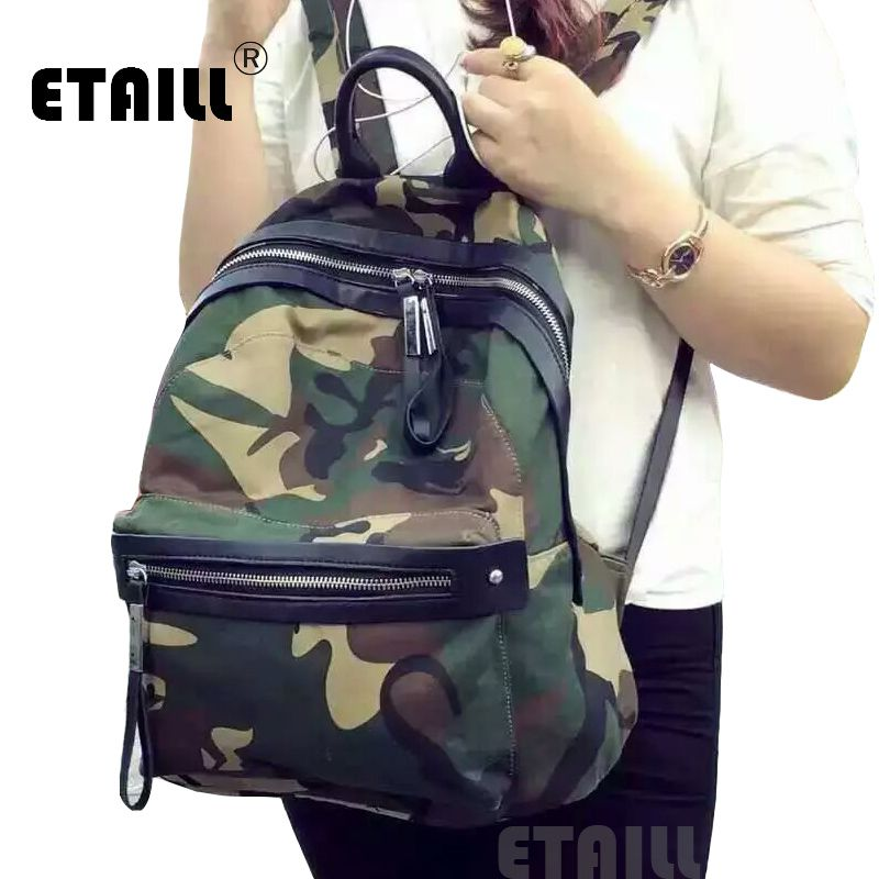 waterproof camouflage famous brand designer backpack nylon. Black Bedroom Furniture Sets. Home Design Ideas