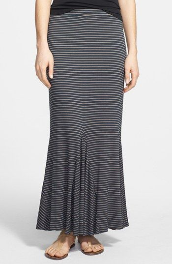 Pleione Trumpet Hem Maxi Skirt (Regular & Petite) available at #Nordstrom #Pleione