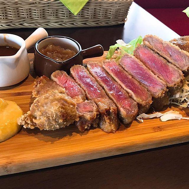 岡山ランチ 問屋町 ビーフ かつれつ ハイファイブ 肉 Bisttoria Hifive 食べたかったやつ 野菜いっぱいお肉いっぱい 美味しいに決まってる 岡山 ランチ 美味しい 肉
