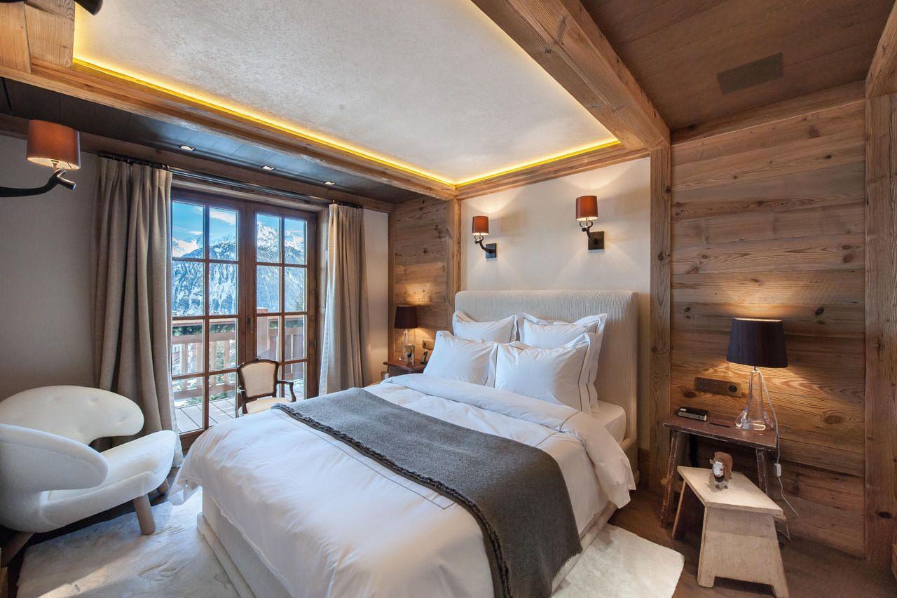 Chalet Cryst Aile Courchevel Alpine Guru Home Chalet Interior Bed Linens Luxury
