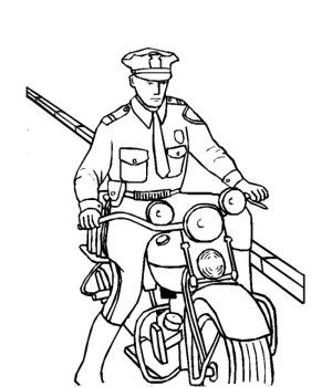 Policeman Coloring Pages Coloring Pages For Kids Coloring Pages Coloring Books