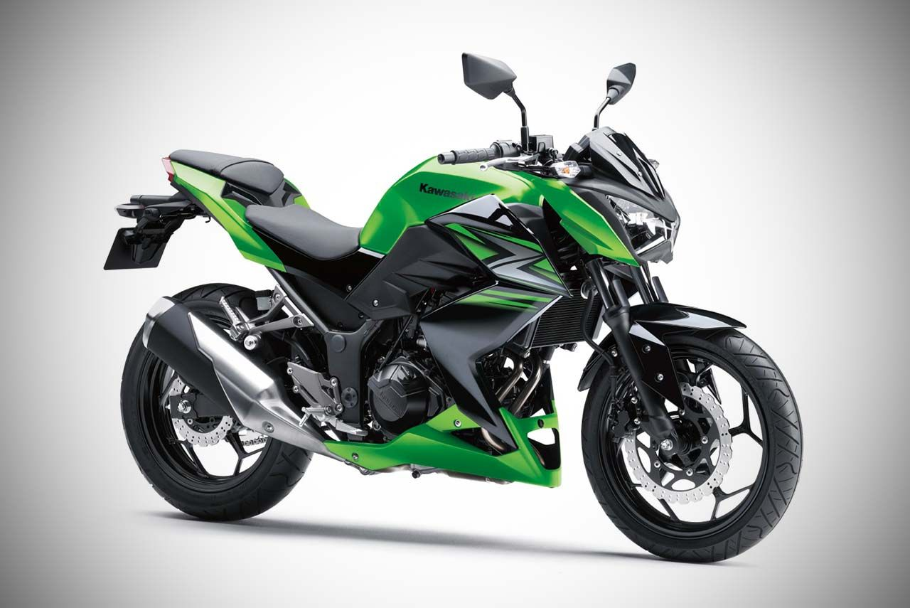 The 2017 Kawasaki Z250 was launched in India. It is priced
