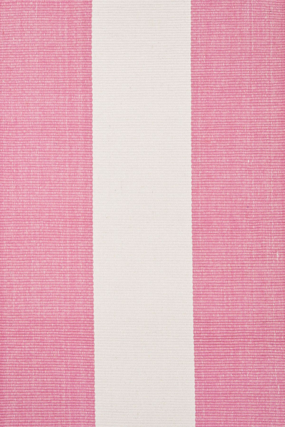 Dash And Albert Rugs Woven Pink Yacht Stripe Area Rug Reviews