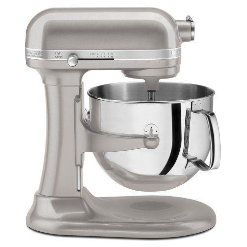 Kitchenaid Ksm7586psr 7 Quart Pro Line Stand Mixer Sugar Pearl Silver Kitchenaid Http Www Amazon Com Dp B008xf7926 Kitchen Aid Kitchen Aid Mixer Stand Mixer