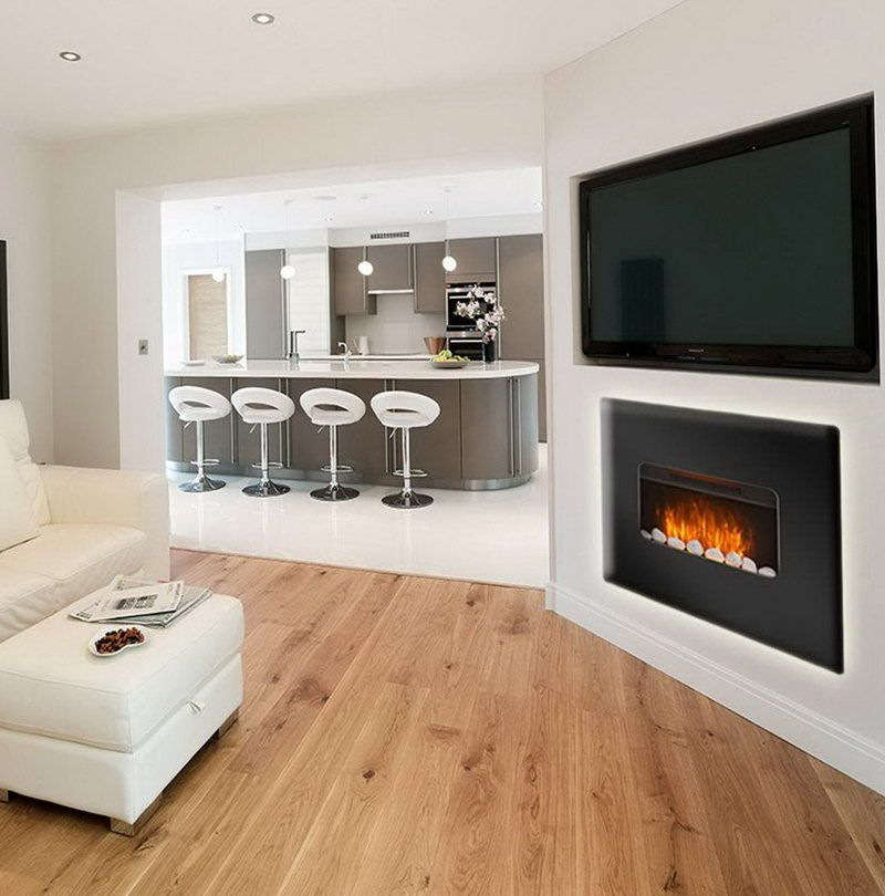 Electric Fireplace Adds Romanticism To Your Living Room Electric