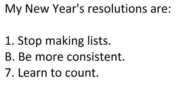 Funny Ideas and Hard to Digest Joks - New Year Resolution - http ...