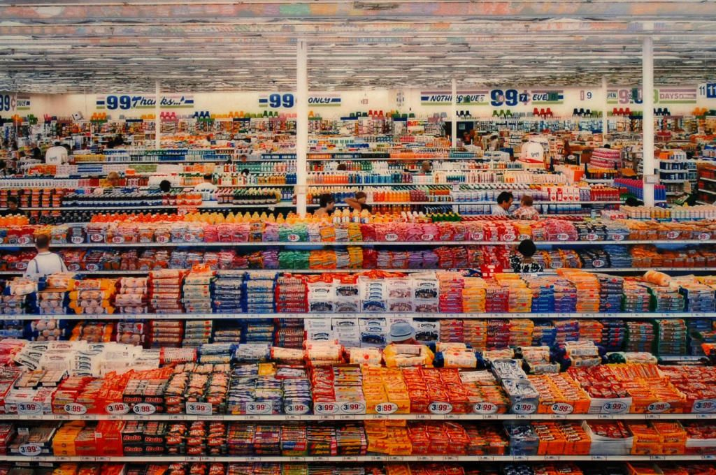 Andreas Gursky Montage Photo 99 Cents Contemporary Photography Fine Art