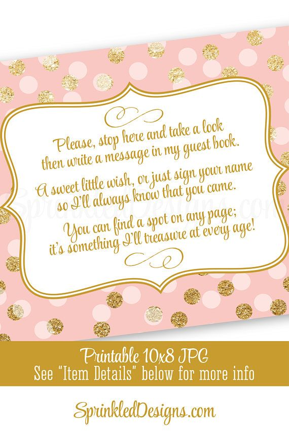 Baby Shower Guest Book Sign : shower, guest, Shower, Guest, Birthday, Book,, Guestbook, Birthday,, Glitter, Party, Decorations