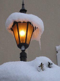 Luce calda d'inverno